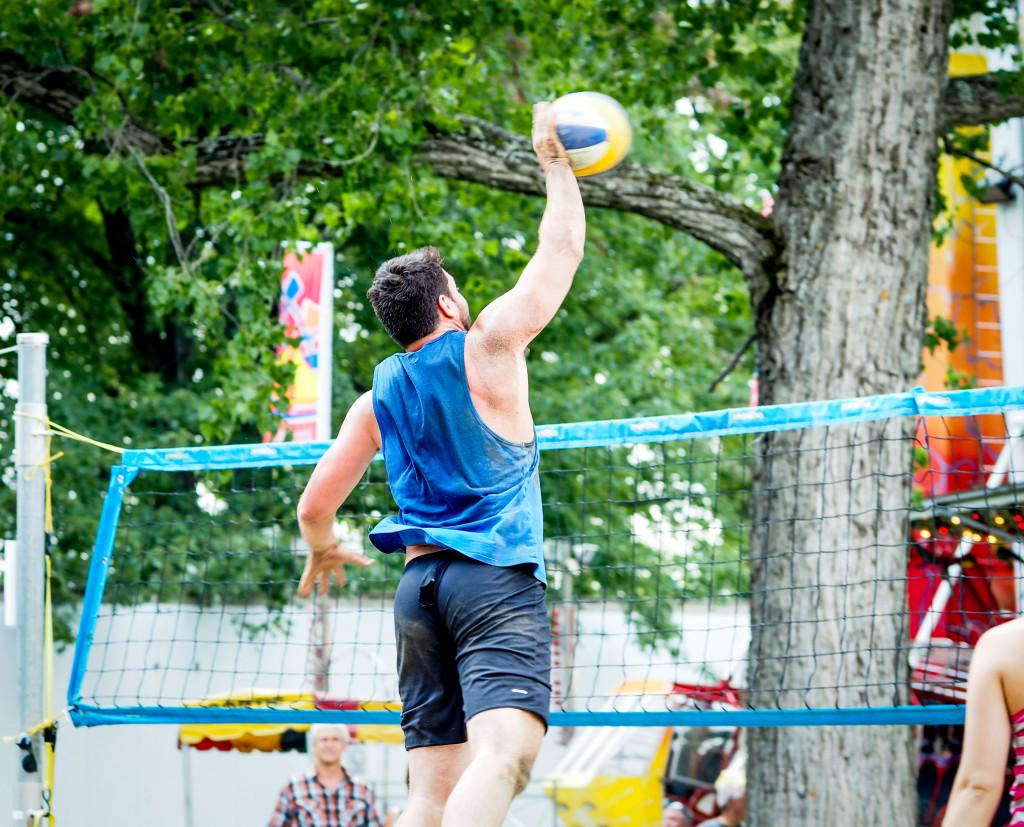 Terrain de volleyball | Lac en fête - Mégantic