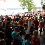 Foule à l'OTJ | Lac en fête - Mégantic