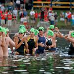 Nageur en compétition | Lac en fête - Mégantic