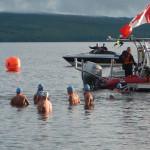 Départ des nageurs | Lac en fête - Mégantic